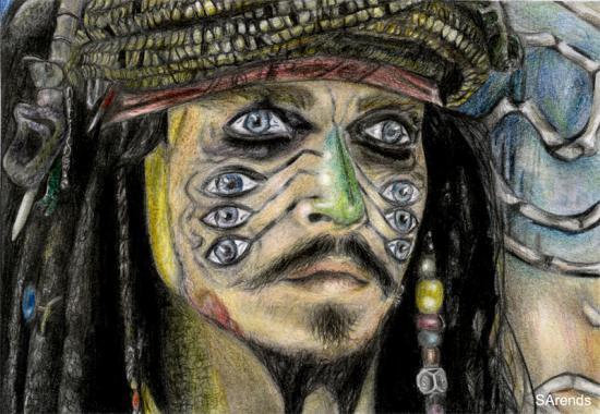 Johnny Depp par sas